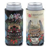 Kentucky Derby 12 oz Slim Can Cooler