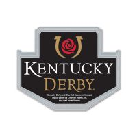 Kentucky Derby Collector Pin Jewelry Card