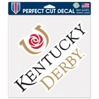"Kentucky Derby Perfect Cut Color Decal 8"" x 8"""