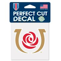 """Kentucky Derby Perfect Cut Color Decal 4"""" x 4"""""""