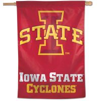 "Iowa State Cyclones Vertical Flag 28"" x 40"""