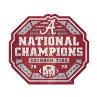 National Football Champions Alabama Crimson Tide COLLEGE FOOTBALL PLAY STATE SHAPE