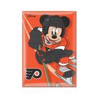 "Philadelphia Flyers / Disney Disney Metal Magnet 2.5"" x 3.5"""