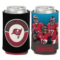 Super Bowl Champions Tampa Bay Buccaneers player Can Cooler 12 oz. Multi Player