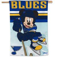 """St. Louis Blues / Disney Vertical Flag 28"""" x 40"""""""