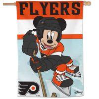 "Philadelphia Flyers / Disney Vertical Flag 28"" x 40"""