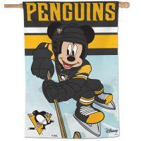 "Pittsburgh Penguins / Disney Vertical Flag 28"" x 40"""