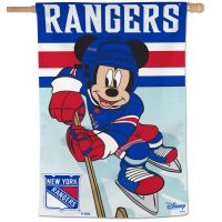 "New York Rangers / Disney Vertical Flag 28"" x 40"""