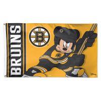 Boston Bruins / Disney Flag - Deluxe 3' X 5'