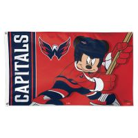 Washington Capitals / Disney Flag - Deluxe 3' X 5'