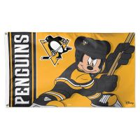 Pittsburgh Penguins / Disney Flag - Deluxe 3' X 5'