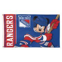 New York Rangers / Disney Flag - Deluxe 3' X 5'