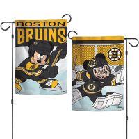 "Boston Bruins / Disney Garden Flags 2 sided 12.5"" x 18"""