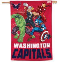 "Washington Capitals / Marvel (c) 2021 MARVEL Vertical Flag 28"" x 40"""