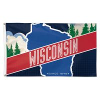 State / Wisconsin Flag - Deluxe 3' X 5'