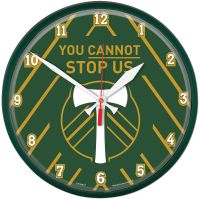 Portland Timbers Round Wall Clock 12.75""