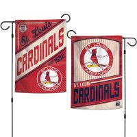 "St. Louis Cardinals / Cooperstown Garden Flags 2 sided 12.5"" x 18"""