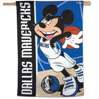 "Dallas Mavericks / Disney Vertical Flag 28"" x 40"""
