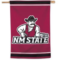 """New Mexico State Aggies Vertical Flag 28"""" x 40"""""""