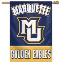 "Marquette Golden Eagles Vertical Flag 28"" x 40"""