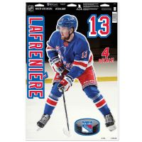 "New York Rangers IMAGE Multi-Use Decal 11"" x 17"" Alexis Lafreniere"