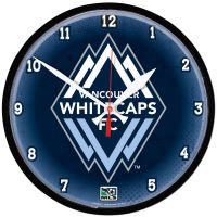 Vancouver Whitecaps FC Round Wall Clock 12.75""