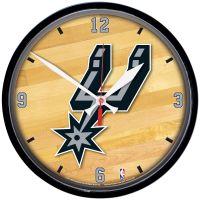 """San Antonio Spurs Round Wall Clock 12.75"""""""