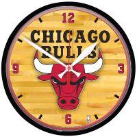 """Chicago Bulls Round Wall Clock 12.75"""""""