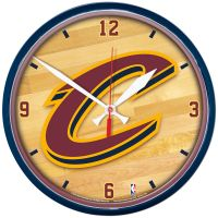 """Cleveland Cavaliers Round Wall Clock 12.75"""""""