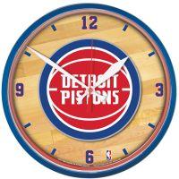 "Detroit Pistons Round Wall Clock 12.75"""
