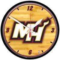 Miami Heat Round Wall Clock 12.75""