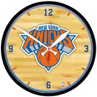 New York Knicks Round Wall Clock 12.75""
