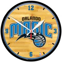 Orlando Magic Round Wall Clock 12.75""