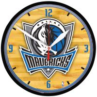 Dallas Mavericks Round Wall Clock 12.75""