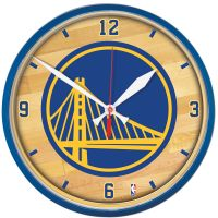 Golden State Warriors Round Wall Clock 12.75""