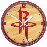 Houston Rockets Round Wall Clock 12.75""