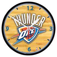 """Oklahoma City Thunder Round Wall Clock 12.75"""""""