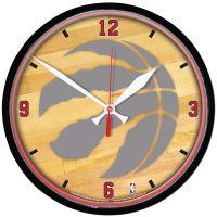 "Toronto Raptors Round Wall Clock 12.75"""
