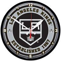 "Los Angeles Kings Round Wall Clock 12.75"""