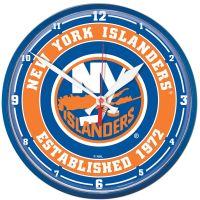 "New York Islanders Round Wall Clock 12.75"""