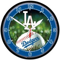 Los Angeles Dodgers Round Wall Clock 12.75""