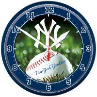 New York Yankees Round Wall Clock 12.75""