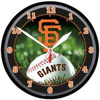 San Francisco Giants Round Wall Clock 12.75""