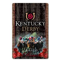 "Kentucky Derby Wood Sign 11"" x 17"" 1/4"" thick"