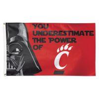 Cincinnati Bearcats / Star Wars DARTH Flag - Deluxe 3' X 5'