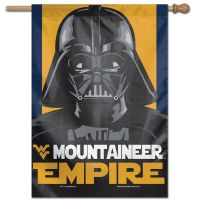 "West Virginia Mountaineers / Star Wars VADER Vertical Flag 28"" x 40"""