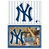 """New York Yankees Rectangle Magnet, 2pack 2"""" x 3"""""""