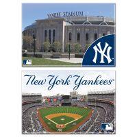 "New York Yankees / Stadium MLB Rectangle Magnet, 2pack 2"" x 3"""
