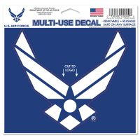 "U.S. Air Force Multi-Use Decal - cut to logo 5"" x 6"""
