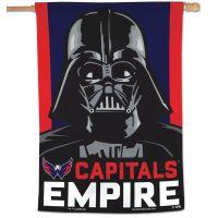 "Washington Capitals / Star Wars star wars Vertical Flag 28"" x 40"""